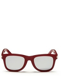 Saint Laurent Square Frame Mirror Sunglasses