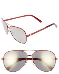 Bobbi Brown The Truman 60mm Aviator Sunglasses Light Gold