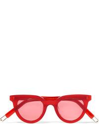 Gentle Monster Tilda Swinton Eye Eye D Frame Acetate Sunglasses Red