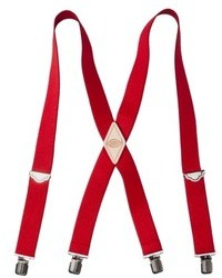 Dickies J Clip Suspenders Red