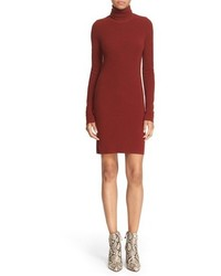 A.L.C. Norris Merino Wool Blend Turtleneck Sweater Dress