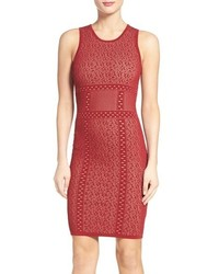 Ali Jay Body Con Sweater Dress