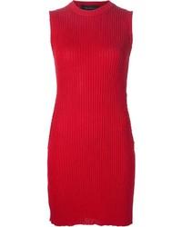 Area di barbara bologna ribbed sleeveless circle sweater dress medium 1101527