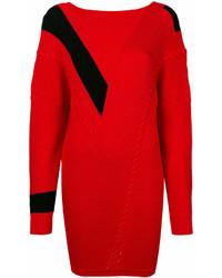 Rag & Bone Contrast Panelled Sweater Dress