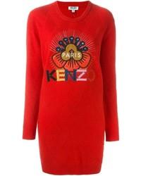 Kenzo Tanami Flower Sweater Dress
