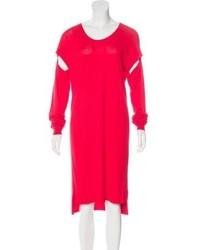 Maison Margiela Mm6 By Maison Martin Margiela Long Sleeve Sweater Dress