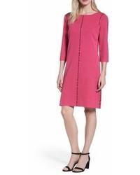 Ming Wang Studded Sweater Dress
