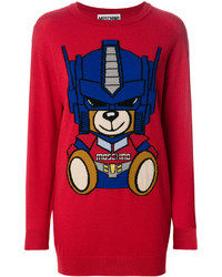 Moschino Transformer Bear Sweater Dress