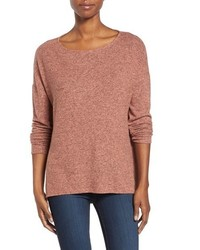 Gibson Cozy Ballet Neck Highlow Pullover