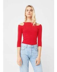 Mango Cut Out Sweater