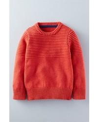 Mini Boden Sandown Ribbed Cotton Sweater