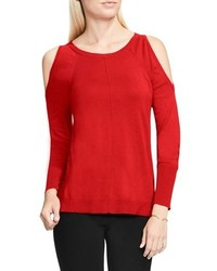 Vince Camuto Petite Cold Shoulder Sweater