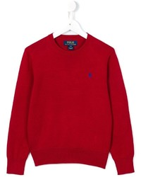 Ralph Lauren Kids Crew Neck Jumper
