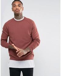 Asos Sweatshirt In Red