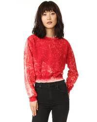 Cotton Citizen The Milan Cropped Crew Sweatshirt
