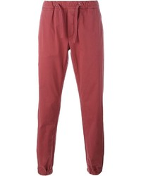 Eleventy Drawstring Tapered Trousers