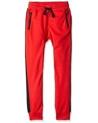 Southpole Boys Airmesh Jogger Pants With Zippered Pockets And Side Piping