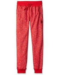 Southpole Boys Jogger Pants In French Terry Basic Marled