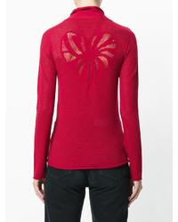 Twin-Set Neck Tie Sweatshirt