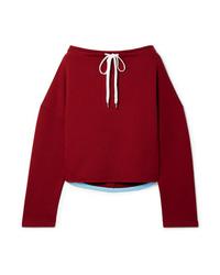 Marni Oversized Cotton Jersey Sweatshirt