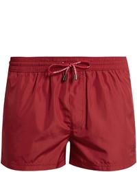 Dolce & Gabbana Crown Embroidered Swim Shorts