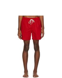 Polo Ralph Lauren Red Traveler Swim Shorts