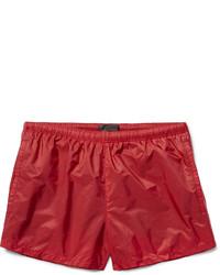 Prada Slim Fit Short Length Swim Shorts