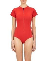 Lisa Marie Fernandez Farrah Swimsuit Red