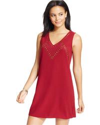 Be Bop Juniors Embellished V Neck Dress