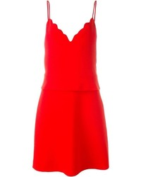 Carven Scalloped Cami Dress