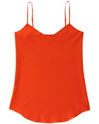 Joe Fresh Bias Cut Silk Cami Dark Blue