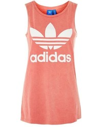 adidas Originals Red Stone Wash Tank Top