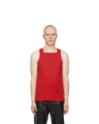 Givenchy Red Square Tank Top