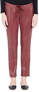 Christopher Kane Drawstring Waist Pants Red