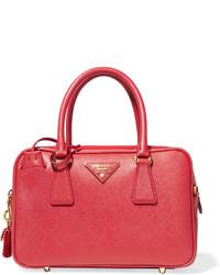 d651bbf392 Prada Prada - Galleria Baby Textured-leather Tote