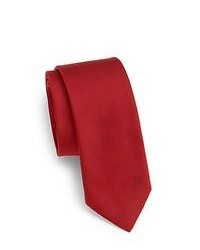 Burberry London Silk Tie Red