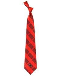 Georgia Bulldogs Plaid Tie