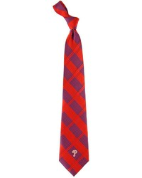 Philadelphia Phillies Plaid Tie