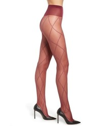 Oroblu Graphic Cross Sheer Tights