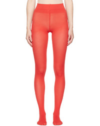 Red amila tights medium 5082367