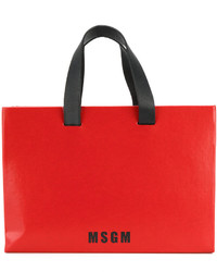 MSGM Box Tote Bag