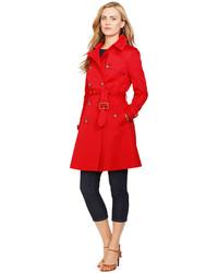 Women s Red Trenchcoats from Macy s   Women s Fashion d421e84a8e