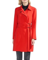 Vince Camuto O Ring Belt Trench Coat