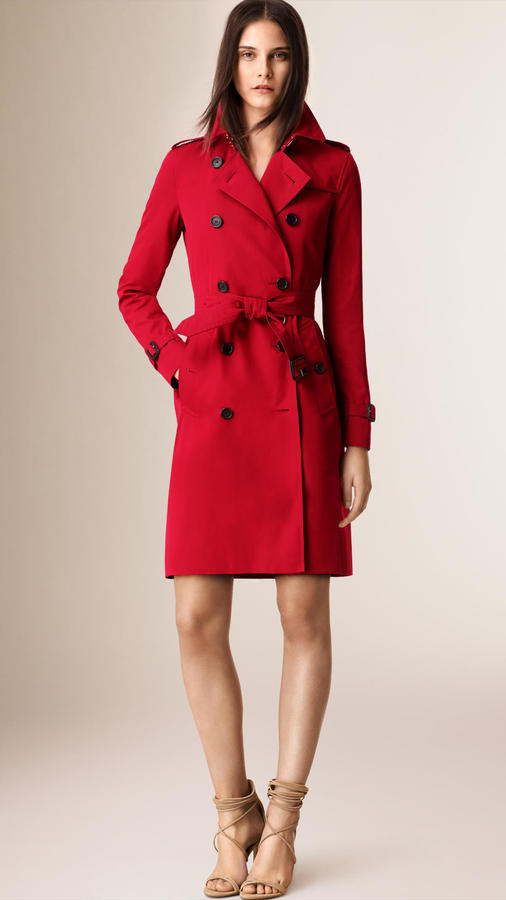 a8c88aa8d $1,895, Burberry The Kensington Long Heritage Trench Coat