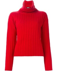 DKNY Ribbed Turtle Neck Sweater