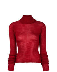 MM6 MAISON MARGIELA Rib Turtleneck Jumper