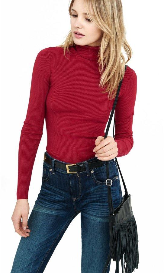 80709b096c0f ... Ribbed Turtleneck Sweater ...