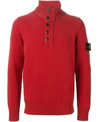 Stone Island Funnel Neck Sweater