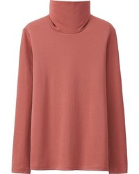Uniqlo Supima Cotton Turtleneck Long Sleeve T