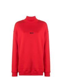 MSGM Turtle Neck Sweatshirt